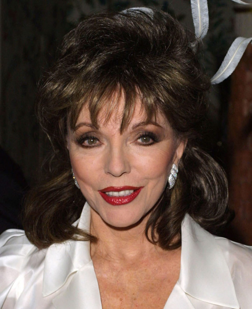Joan Collins headshot portrait photo