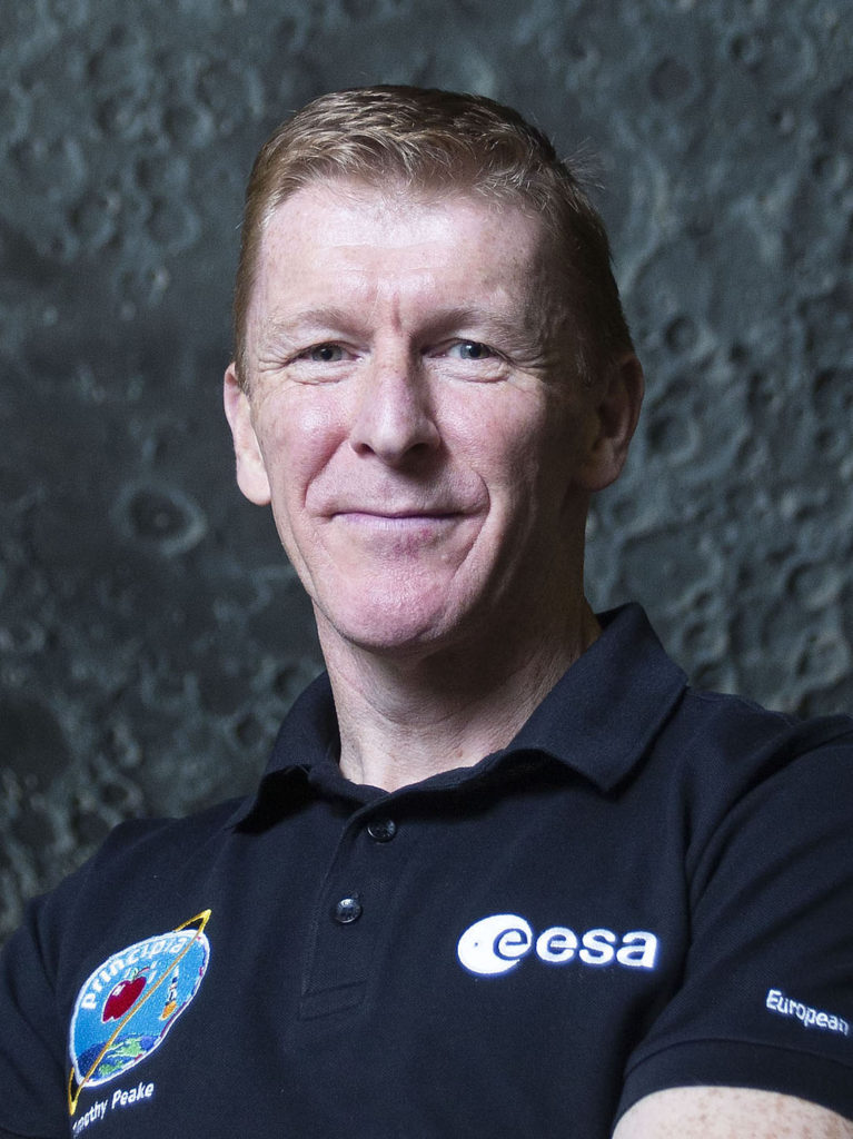 headshot portrait photo tim peake