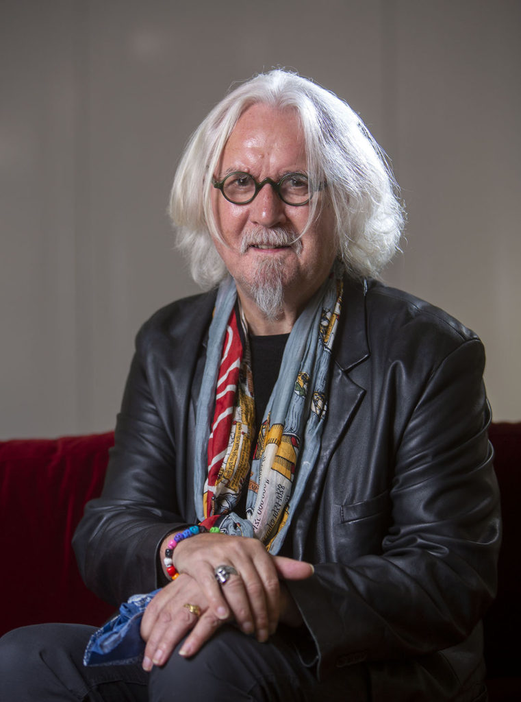 headshot portrait photo billy connolly