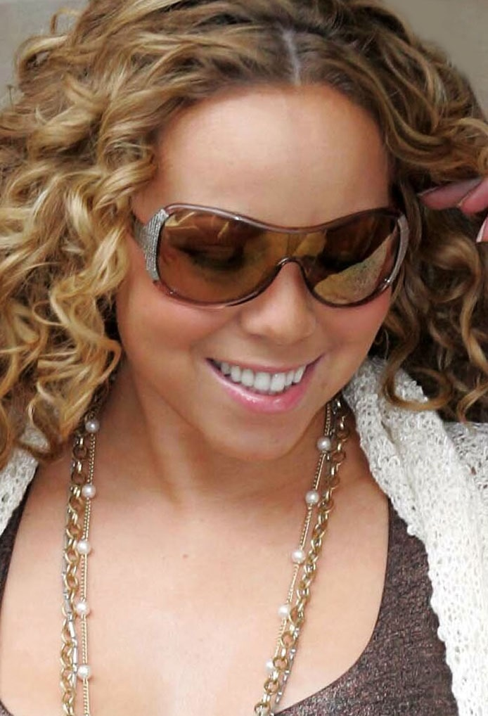 mariah carey headshot portrait photo