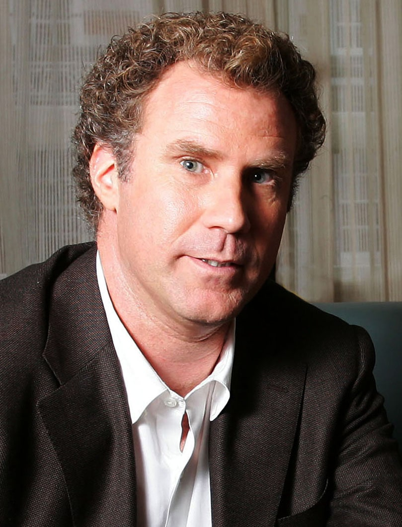 will ferrell headshot portrait photo