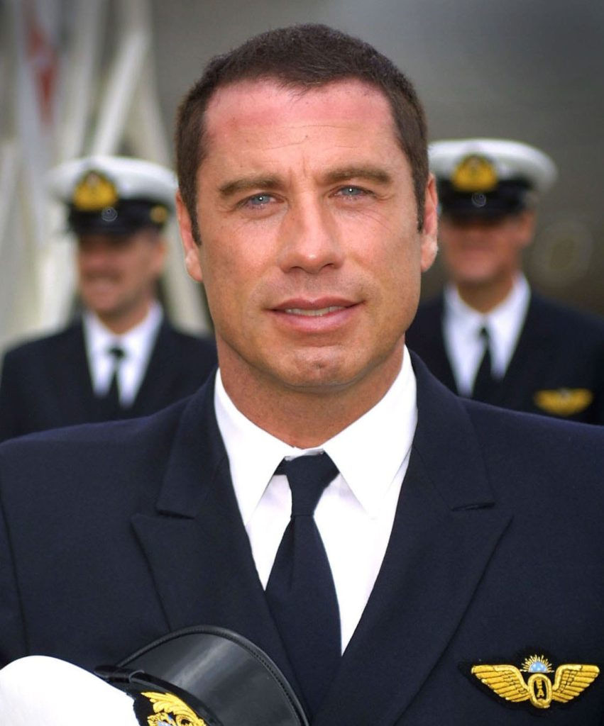 headshot and portrait photo john travolta