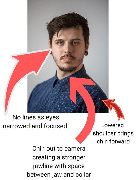 headshot portrait photo