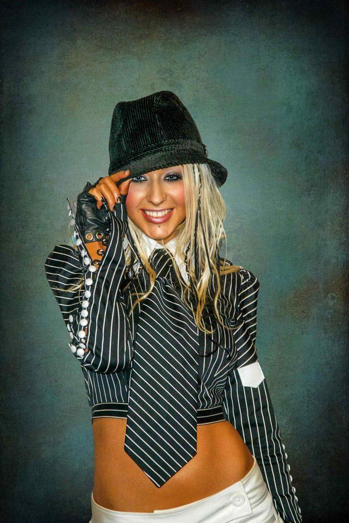 headshot portrait photo Christina Aguilera