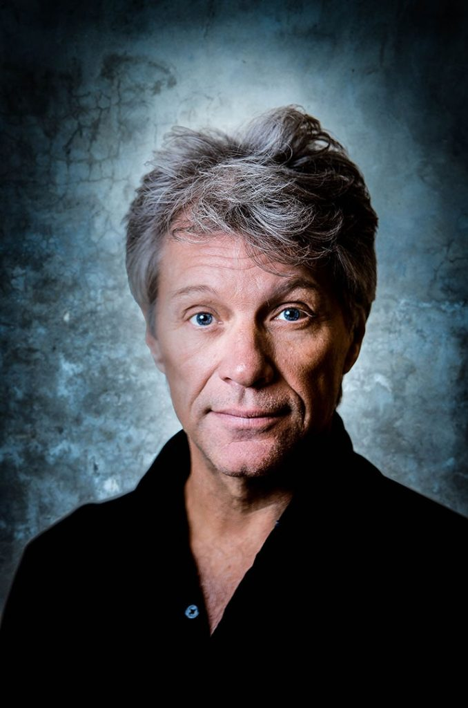 headshot and portrait photo Jon Bon Jovi